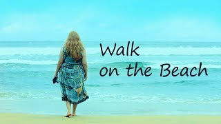 Walk on the beach of Marari