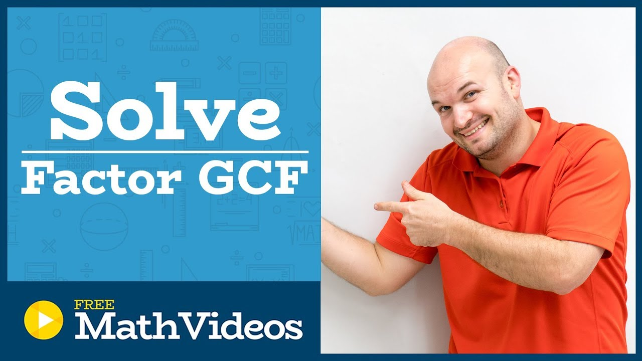 Master How To Solve A Quadratic Equation With Two Terms By Factoring Out  The Gcf