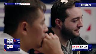 Main Event Day 2 - EPT Monte Carlo 2018