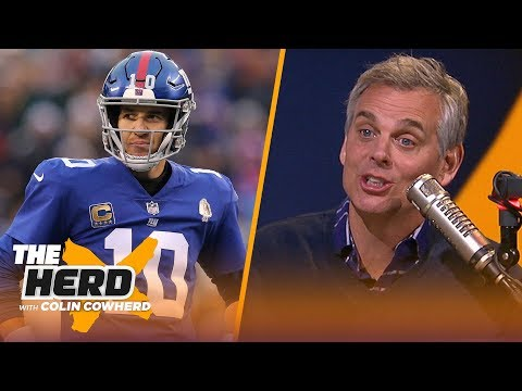 Colin Cowherd talks OBJ & Browns, can't understand Giants' not moving on from Eli | NFL | THE HERD
