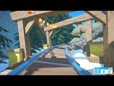 NEW WINTER UPDATE! - PLANET COASTER #11