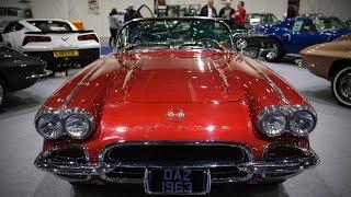 Классические авто представили на выставке в Лондоне (новости)