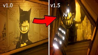Download Bendy Chapter 1 Evolution v1.0 VS v1.5 (2017-2018) Mp3 and Videos