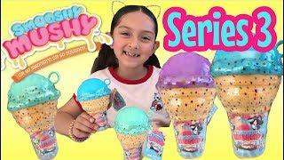 Новий!!! Муші серії SMOOSHY 3 - м'які іграшки огляд - рукою Squishies коментар маслозавод