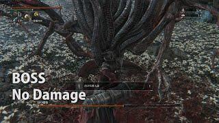 【Bloodborne】月の魔物 19秒BOSSノーダメージ攻略【パリィ/幼年期のはじまりルートED映像付/分岐条件/ラスボス】