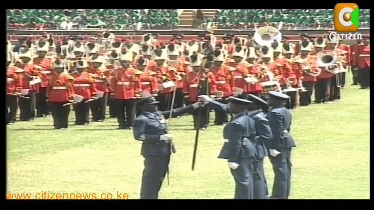 The Trooping Colours Of Jamhuri