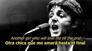 Another Girl - The Beatles (LYRICS/LETRA) [Original]
