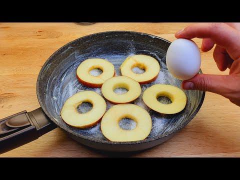 Apfelkuchen in einer