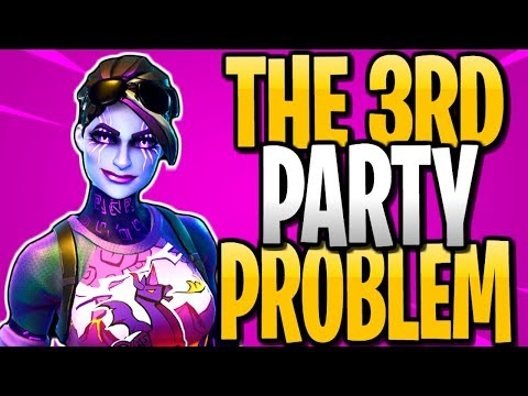 The 3rd Party Problem In Season 6 | Fortnite Battle Royale