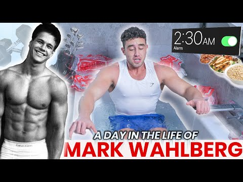 Bodybuilder tries Mark Wahlberg's Daily Routine | 2:30AM START | Zac Perna