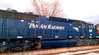 PAN AM RAILWAYS WITH THE NEW EDITIONS