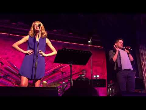 "Jeremy Jordan & Ashley Spencer @ Sony Hall ""Songs from Past Shows Medley"""
