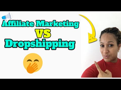 Affiliate Marketing VS Drop-Shipping - Which do I Prefer? thumbnail