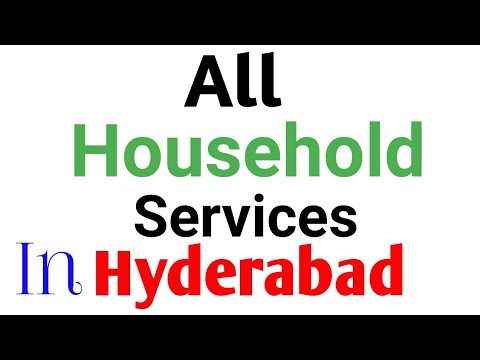 All Household Services In Hyderabad