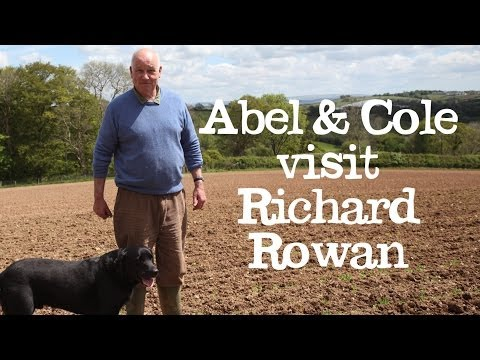 Abel & Cole visit Organic Farmer, Richard Rowan