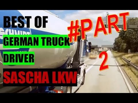 🔴 BEST OF Sascha LKW Fahrnuenftig (Angry German Truck Driver) #Part 2/2 [activate Subtitles!]
