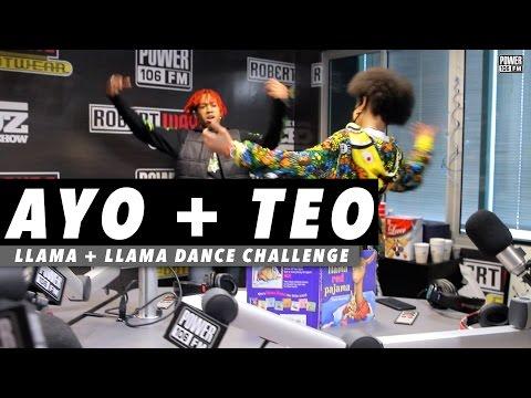 Ayo & Teo Rolex | Llama Llama Dance Challenge