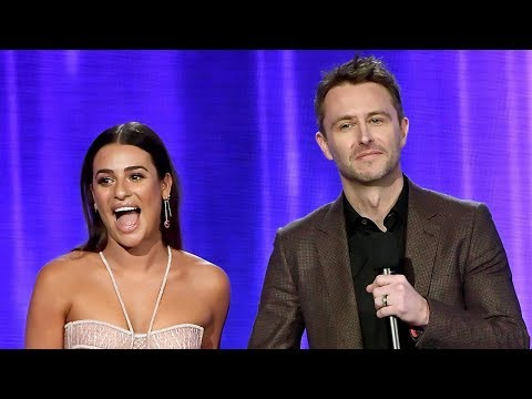 Lea Michele FLUBS Nick Jonas' Name At 2017 AMAs & Fans FLIP Out