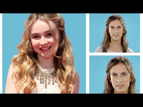 Hair Tutorial - Sabrina Carpenter Half Rose Bun - Official Disney Channel UK HD