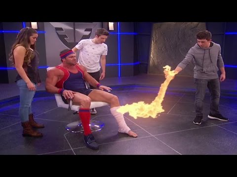 Lab Rats: Elite Force Coming Through in the Clutch - The weightlifter
