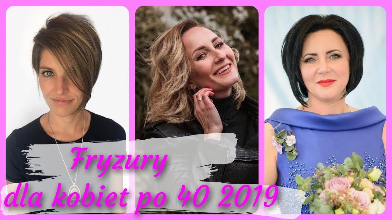 20 Pomysłów Na ładne Fryzury Dla Kobiet Po 40 2019