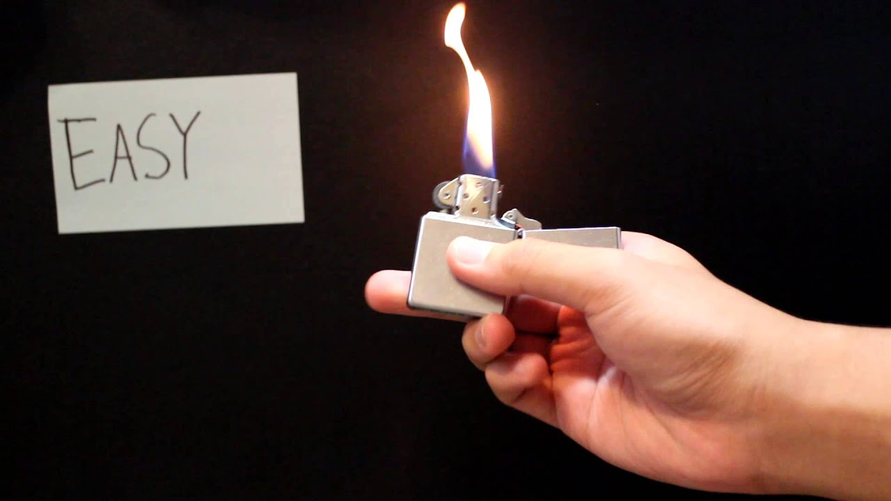 Basic zippo tricks: 6 steps (with pictures).
