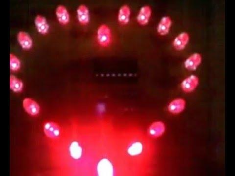 Mạch LED trái tim dùng IC 555 và 4017