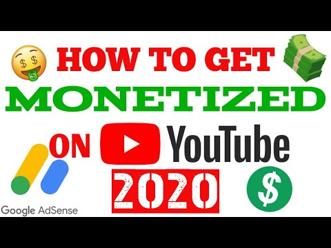 HOW TO MONETIZE YOUR YOUTUBE VIDEOS IN 2020   STEP BY STEP GUIDE