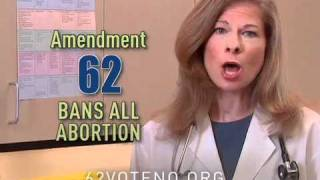 No on 62 TV Ad - Same Bad Idea with a New Number - Dr. Kim Warner