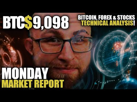 🔴Breaking Bitcoin Live🔴 Crypto – FOREX – Metals Analysis! Monday Market Metallurgy!