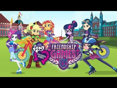 "Download my little pony Equestria girls: Friendship games[2015]""Full movie in English 🌟""|Mlp International"