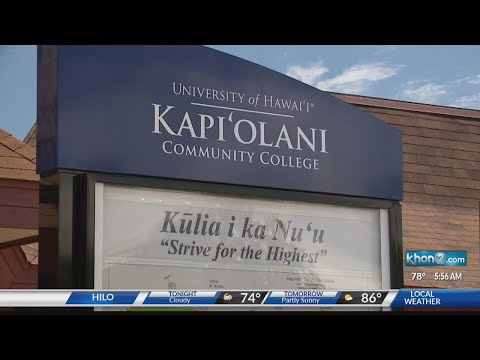 Kapiolani Community College ranked number in Hawaii for highest paid graduates