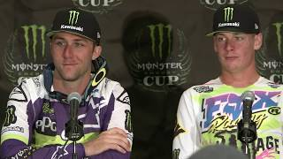 Post Race Press Conference - Cup Class - 2019 Monster Energy Cup