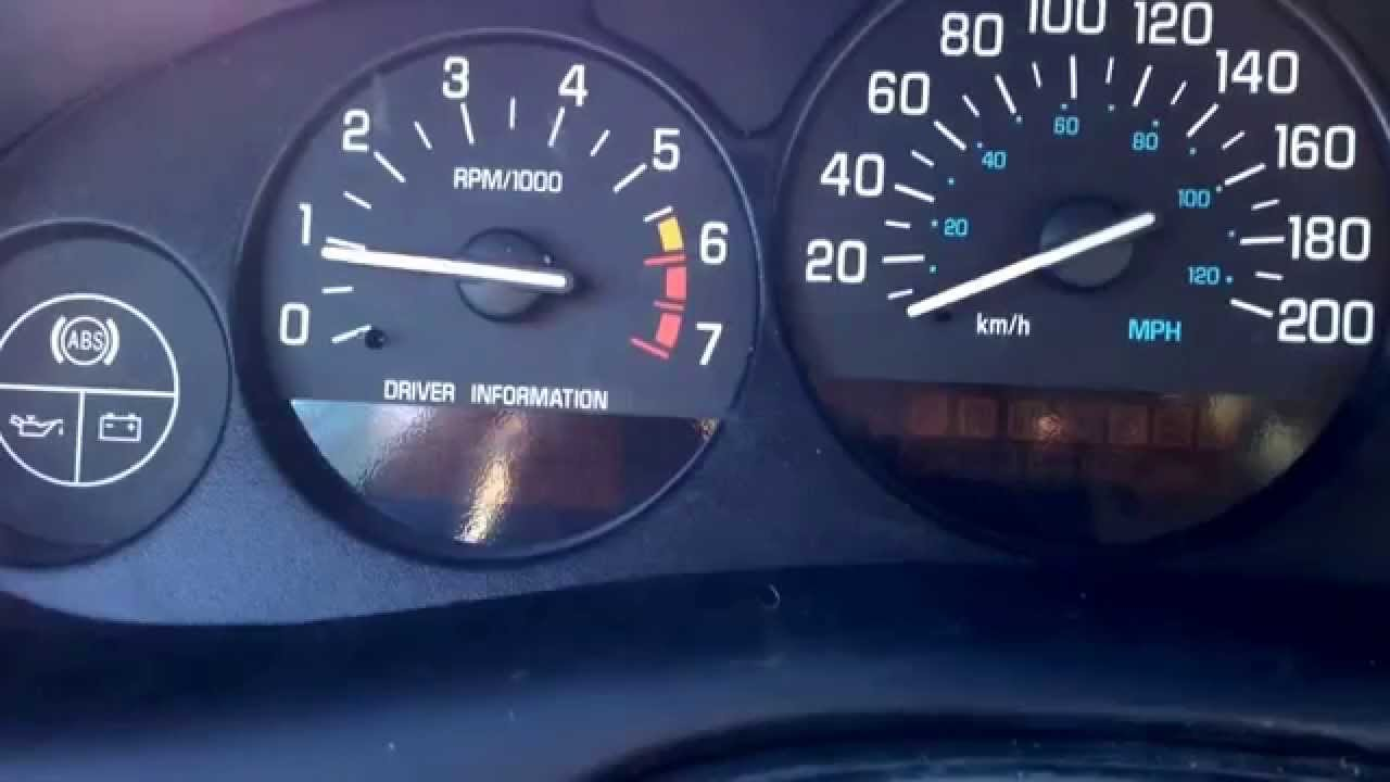 2001 Buick Century With Regal Gauge Cer Installed And Working