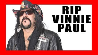 Vinnie Paul 1964-2018: A Look Back at Pantera's Legendary Drummer