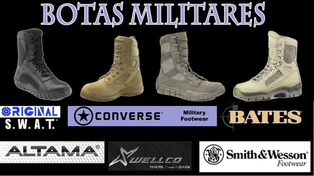 7c3a1f93fb27f Botas Militares, Marcas de Botas Militares para Especialistas - YouTube