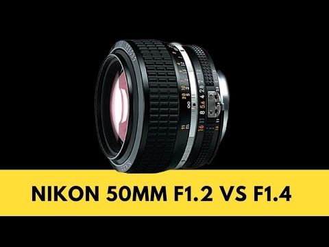 Nikon 50mm f1.4 vs Nikon 50mm f1.2 - Which 50 for my Nikon D750?