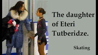 Diana Davis The daughter of Eteri Tutberidze.