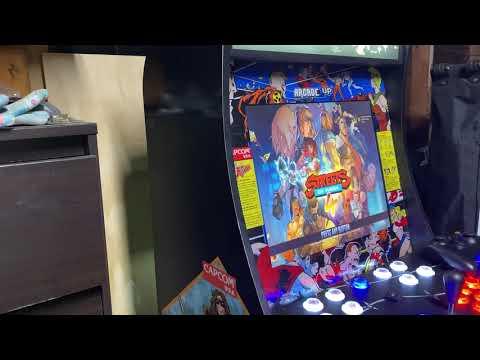 Final Fight 4 player 4tb Big Box Arcade1up mod 12,000 games. from Retro Lizard