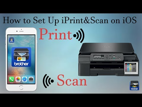 Brother DCP T500W IPrint&Scan Setup