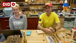 """Live14 Domidrewno. Jak wykonać i osadzić kliny drewniane typu """"kokarda""""?"""