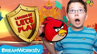 Angry Birds Seasons with 9 Year Old Jacob from TeraBriteGames | LEAGUE OF LET'S PLAY