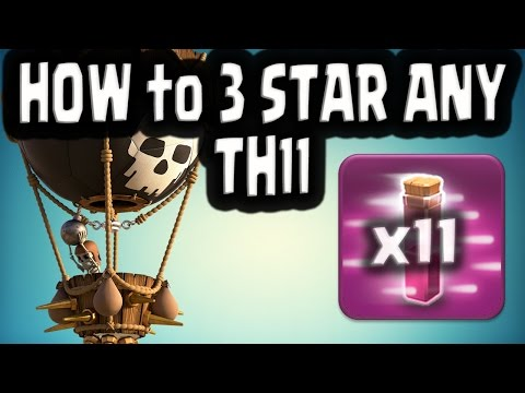Th11- LavaLooNion ★★★ CLASH OF CLANS