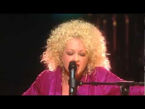 Cyndi Lauper performs Time After Time with Lil Kim at Mandela Day