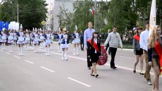 Парад Победы в Россоши 2014