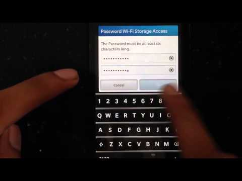 How To Transfer Files Wirelessly From Your BlackBerry 10 Device To Your Computer