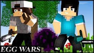 Minecraft: EGG WARS - ENFRENTANDO FULL DIMA! c/ SrPedro