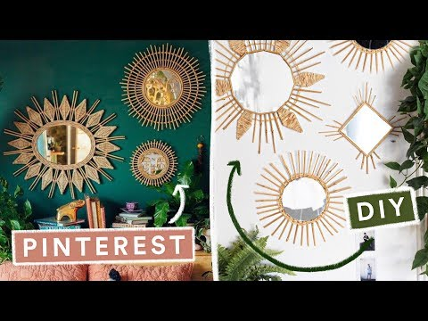 DIYing VIRAL PINTEREST HOME DECOR • Lone Fox