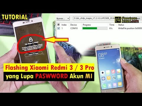 tutorial-cara-flashing-dan-software-redmi-3/-3-pro-yang-lupa-password-akun-mi--bahasa-indonesia