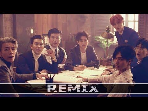 SUPER JUNIOR 슈퍼주니어 'Black Suit' - (First Nuclo Remix) MV